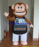 Monkey movie mascot costume