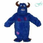 Sully monster university monster mascot costume