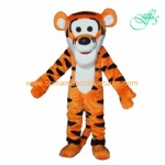 Tiger party mascot costume, tiger plush costume