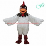 Cock, chicken mascot costume, animal mascot costume