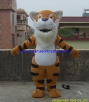 Tiger fancy dress mascot costume