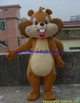 Big tail squirrel outfit mascot costume