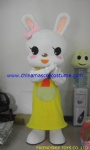 Handmade Bunny Rabbit Custom Mascot Costume