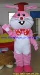 Rabbit plush mascot costume