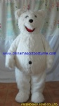 Polar bear animal mascot costume