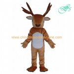 Deer animal mascot costume